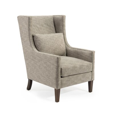 High Back Wingback Chair Upholstery: 2100 Fabric