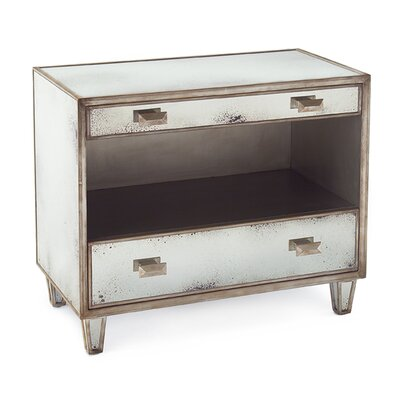 Samui 2 Drawer Nightstand