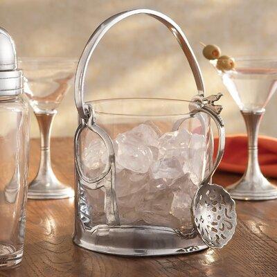 Taverna Crystal Ice Bucket with Handles