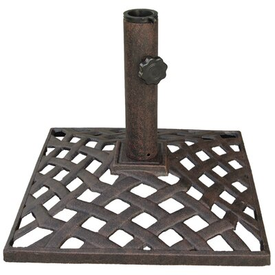 Basket Weave Umbrella Base