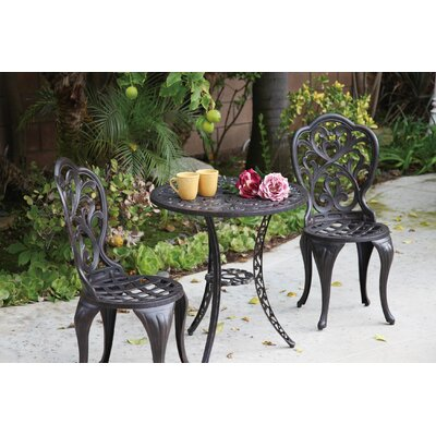 Hampton 3 Piece Bistro Set