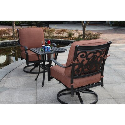 St Cruz 3 Piece Rocker Seating Group with Cushions