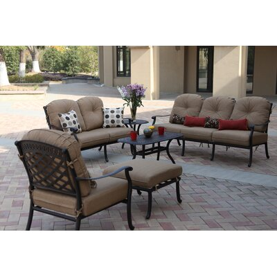 Stunning Deep Seating Group Cushions Lenahan - Product picture - 12469