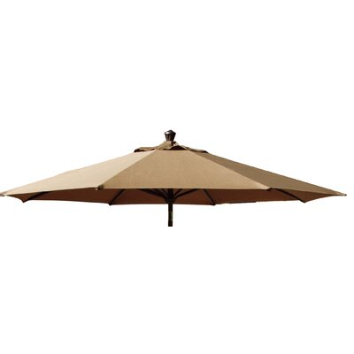 Canopy for Market Umbrella Color: Brown