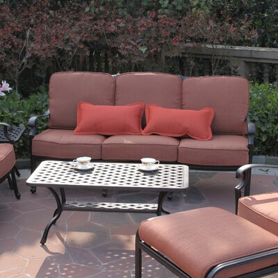 St. Cruz Deep Seating Sofa with Cushion