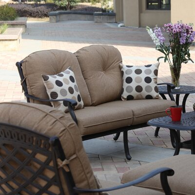 Sedona Deep Seating Loveseat with Cushion