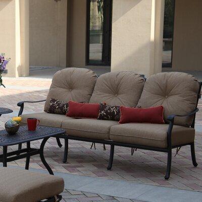 Sedona Deep Seating Sofa with Cushion