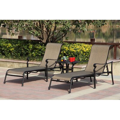 Monterey 3 Piece Lounge Set