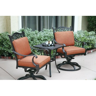 Fairmont 3 Piece Deep Seating Group with Cushions