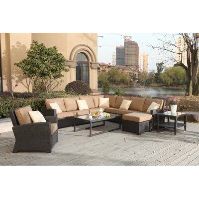 Stunning Sectional Set Cushions Stockholm - Product picture - 12469