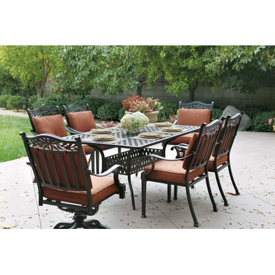 Fairmont 7 Piece Dining Set with Cushions