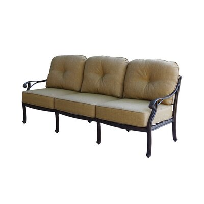 Nassau Deep Seating Sofa with Cushion