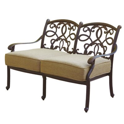Santa Monica Deep Seating Loveseat with Cushion