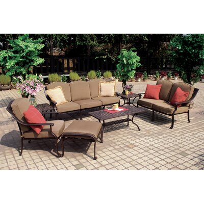 Ten Star 7 Piece Deep Seating Group with Cushion