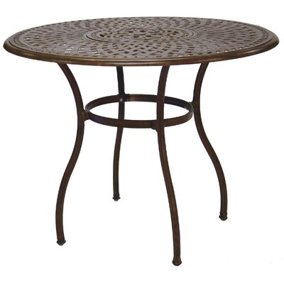 Series 60 Bar Table Finish: Antique Bronze