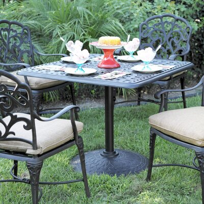 Traditional Weather Resistant Dining Table 129 Product Pic