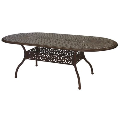 Series 60 Dining Table Finish: Antique Bronze