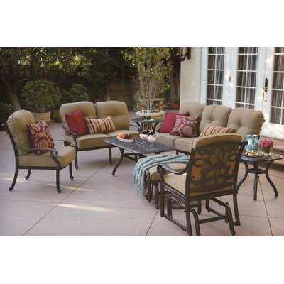 Santa Monica 8 Piece Deep Seating Group with Cushions