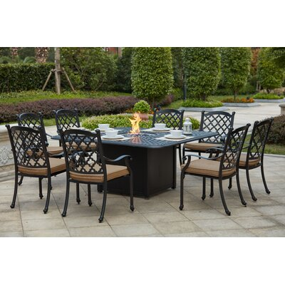 High-class Metal Dining Set Product Photo