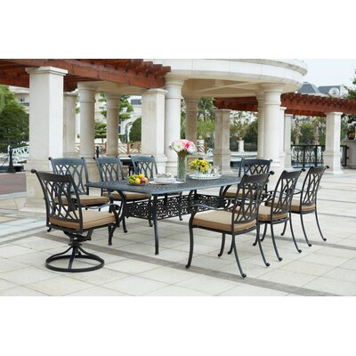 Longstanding Rectangular Dining Set Product Photo