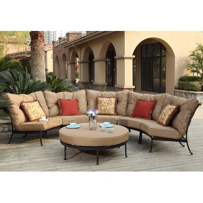 Santa Anita 6 Piece Deep Seating Group with Cushions