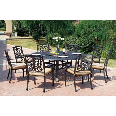 Santa Barbara 10 Piece Dining Set with Cushions