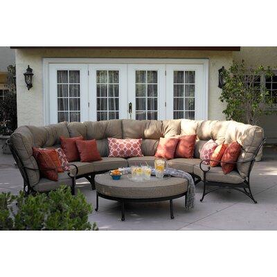 Santa Anita 5 Piece Deep Seating Group with Cushions