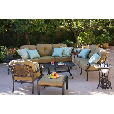 Sicilia 4 Piece Deep Seating Group with Cushion