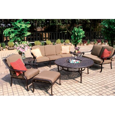 Ten Star 4 Piece Deep Seating Group with Cushions