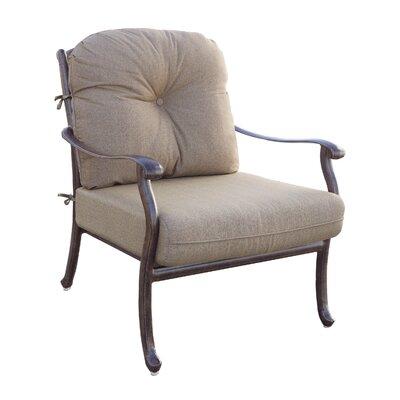 Sedona 6 Piece Deep Seating Group with Cushions Frame Finish: Mocha