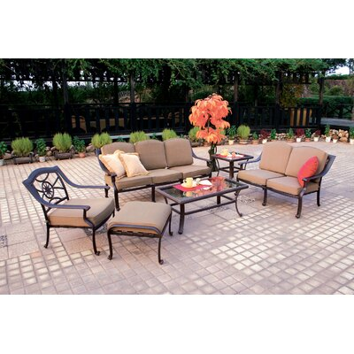 Ten Star 6 Piece Deep Seating Group with Cushions