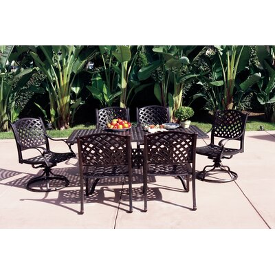 Nassau 7 Piece Dining Set with Cushions