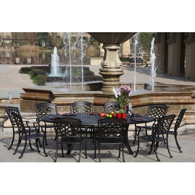 Sedona 11 Piece Dining Set with Cushions