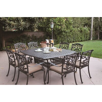 Metal Frame Dining Set Cushions 1884 Product Photo