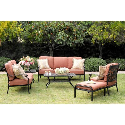 St Cruz 4 Piece Deep Seating Group with Cushions