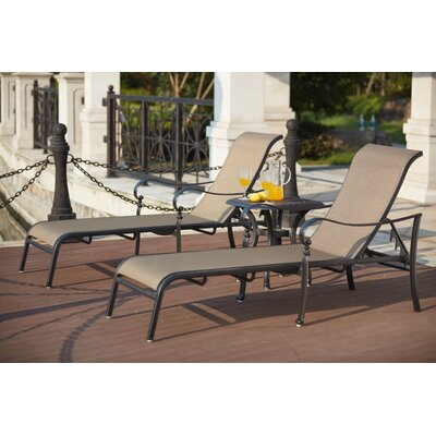 Mountain View 3 Piece Chaise Lounge Set