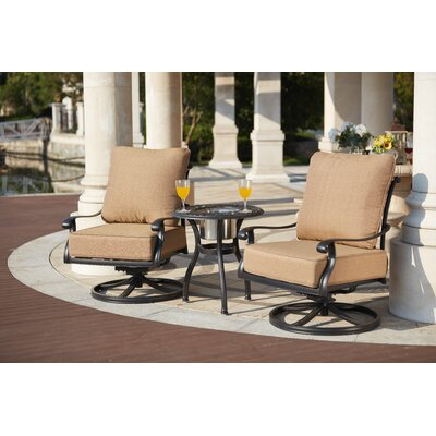 Capri 3 Piece Rocker Seating Group with Cushions