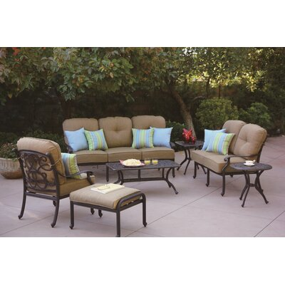 Santa Monica 7 Piece Deep Seating Group with Cushions