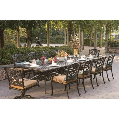 Santa Monica 11 Piece Dining Set with Cushions