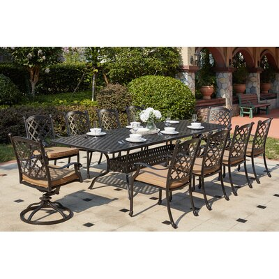 Madison 11 Piece Dining Set with Cushions