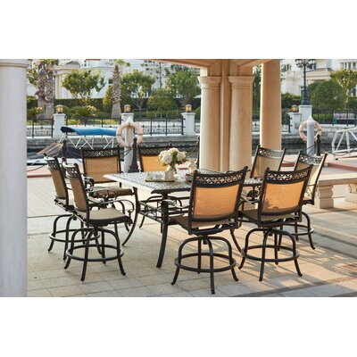 Mountain View 9 Piece Counter Height Dining Set