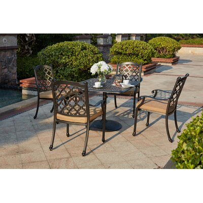 Madison 5 Piece Dining Set with Cushions