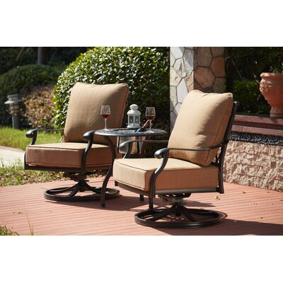 Madison 3 Piece Rocker Seating Group with Cushions