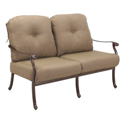Sedona 4 Piece Deep Seating Group with Cushions Frame Finish: Mocha