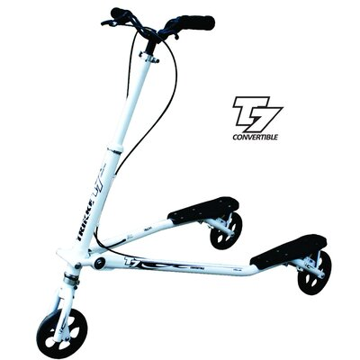 Trikke Tech Inc. T7 Fitness Carving Three Wheel Scooter T7F-WTBK