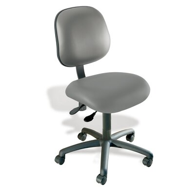 Elite Mid-Back Task Chair Color: New Hempstead Black Product Photo 6444