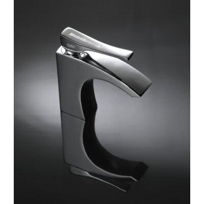 Skip Diamond Single Handle Bathroom Faucet