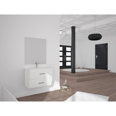 Mccluskey Single Bathroom Vanity Set Size: 27 H x 32 W x 17.5 D