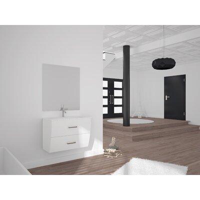 Mccluskey Single Bathroom Vanity Set Size: 27 H x 24 W x 17.5 D