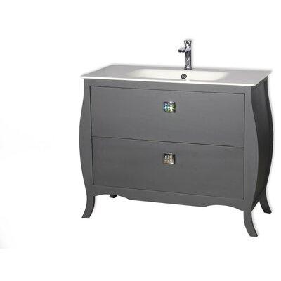 Rosato 32 Single Bathroom Vanity Base Finish: Gray